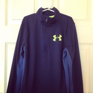 NWOT Boys Under Armour Pullover
